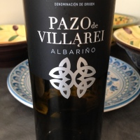 Pazo de Villarei Albariño, 2015 – a wine for #SpanishLitMonth