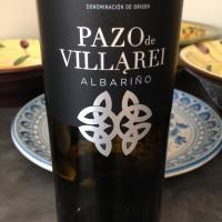 Pazo de Villarei Albariño, 2015 – a wine for #SpanishLitMonth