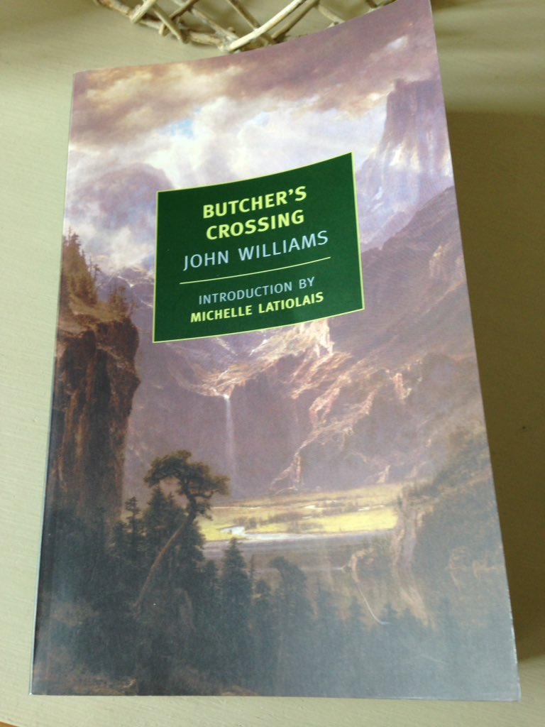 Butcher's Crossing by John Williams | JacquiWine's Journal