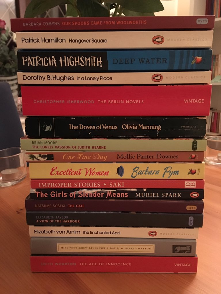 My reading list for the Classics Club – an update