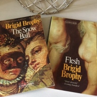 Two excellent novels by Brigid Brophy – The Snow Ball and Flesh